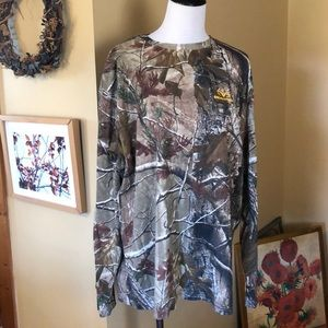 RealTree 3D size 2X Camouflage Cotton Longs $44NEW